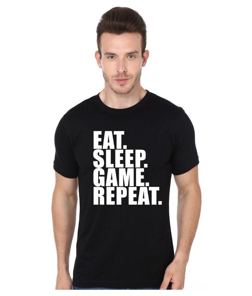 Mopixie Black Round T Shirt