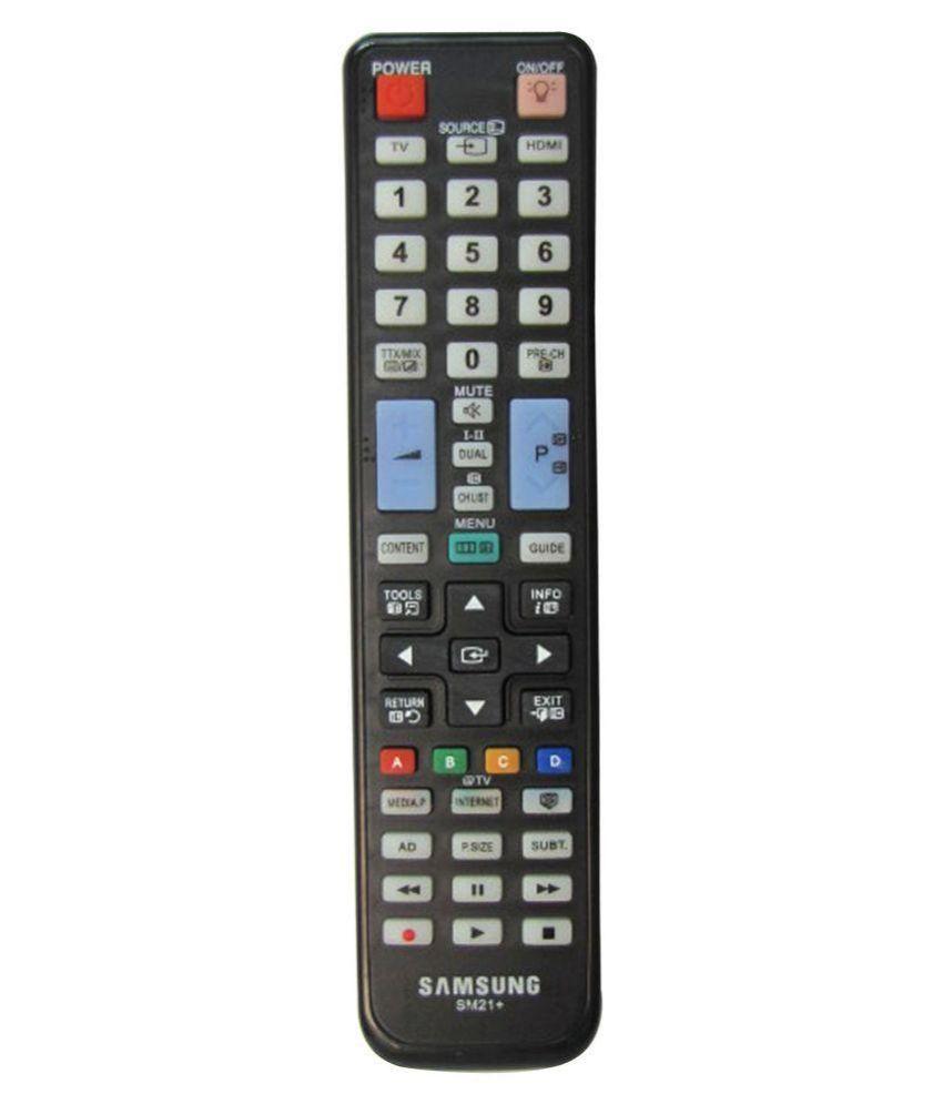 buy samsung sm21 led plasma led tv remote control online at best price in india snapdeal. Black Bedroom Furniture Sets. Home Design Ideas