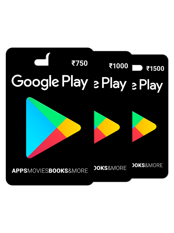 Buy Google Play Gift Card Rs. 1000 Online on Snapdeal