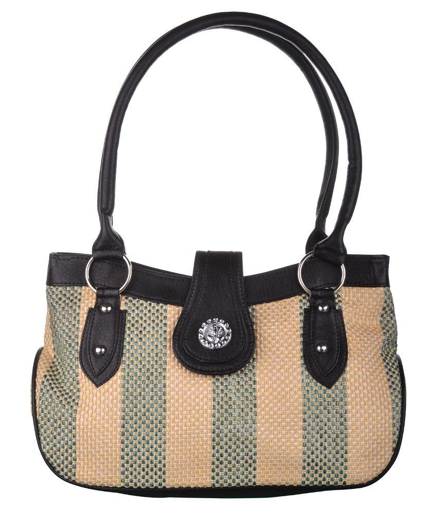 Exotique Multi Color Faux Leather Shoulder Bag