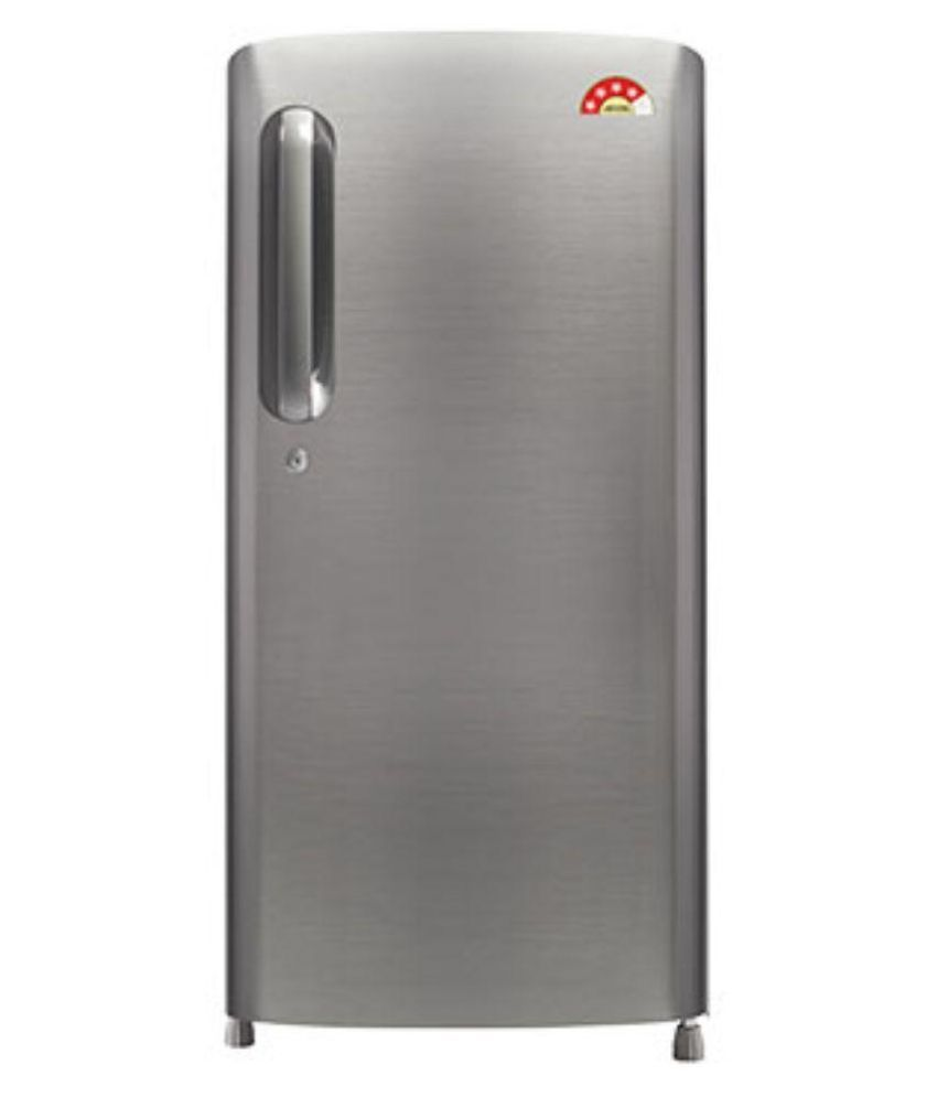 LG 190 Ltr 4 Star GL-B201APZL Single Door Refrigerator - Shiny Steel