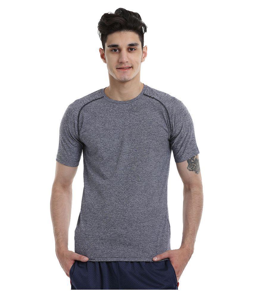 Zobello Grey Round T Shirt