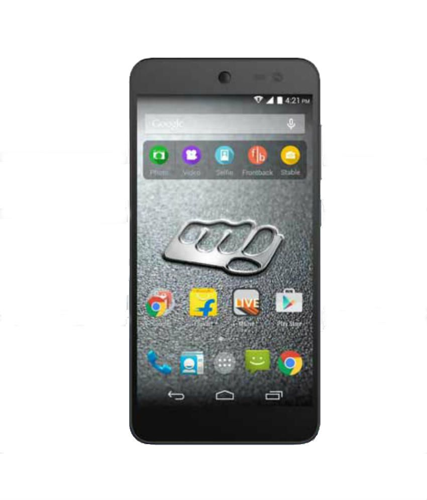 Micromax Canvas Pace 4G Q416 (8GB, Black)