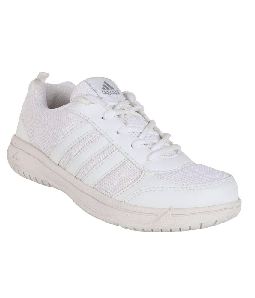 Adidas White Sport Shoes For Kids ...