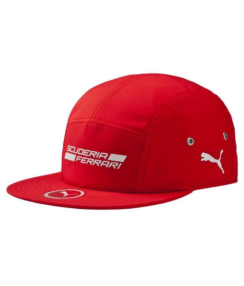 cda163899d3 Puma Red Ferrari F50 Cap for Men - Buy Online   Rs.