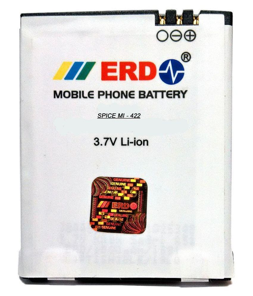 ERD 1000mAh Mobile Battery (For Spice Mi-422)
