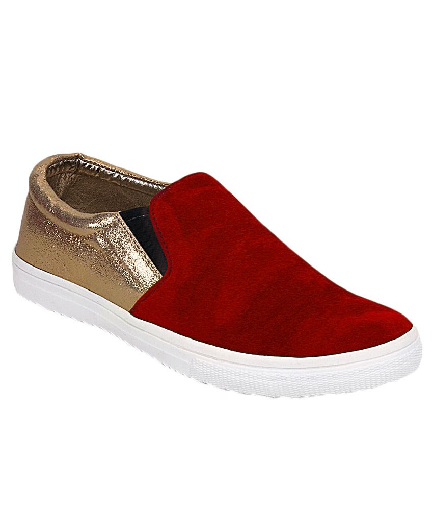 Get Glamr Red Sneaker Casual Shoes cheap sale amazing price wiki online collections for sale sale choice OpjYfDppdc