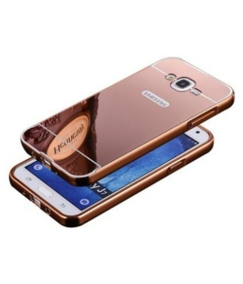 info for 9a11d 76b91 Ktc Rosegold Mirror Back Cover For Samsung Galaxy J7 Mobile Phone
