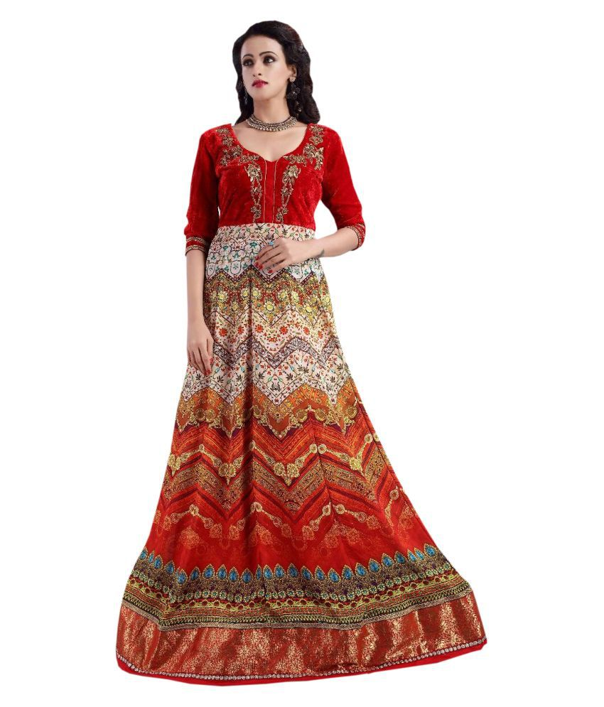 4bce34bdf3 Greenvilla designs velvet lehengas Lehengas Prices in India - Shop ...