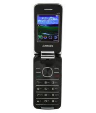 Darago 245 Flip Phone ( 256 MB Black )