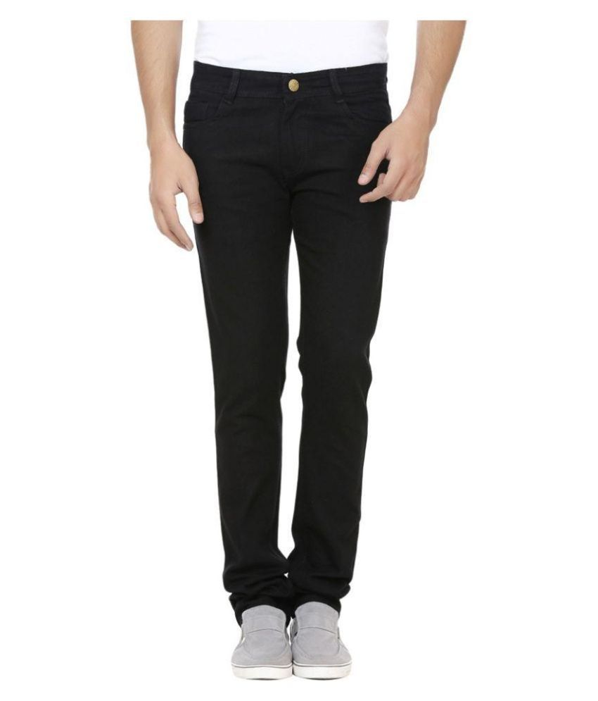 Ave Black Relaxed Solid