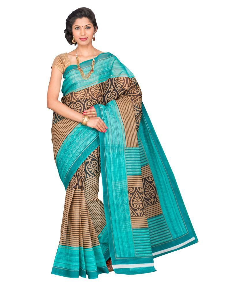 Mitasha Multicoloured Cotton Saree