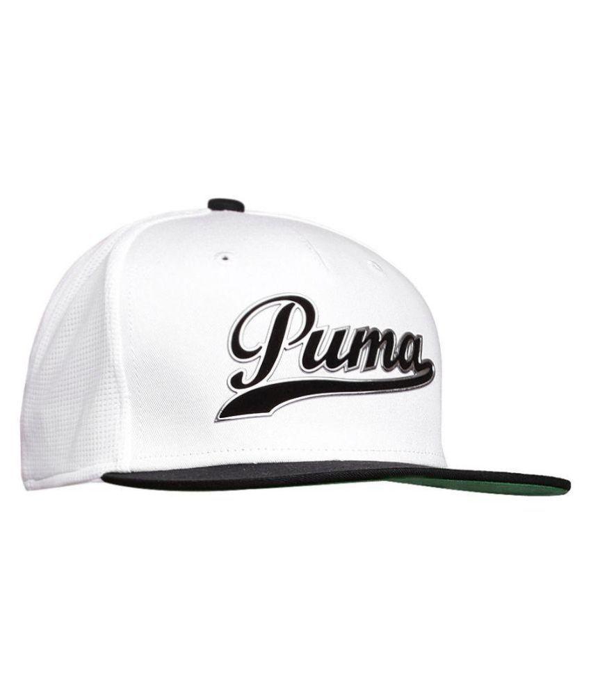 Puma Snapback Black//White Hat *B1-4