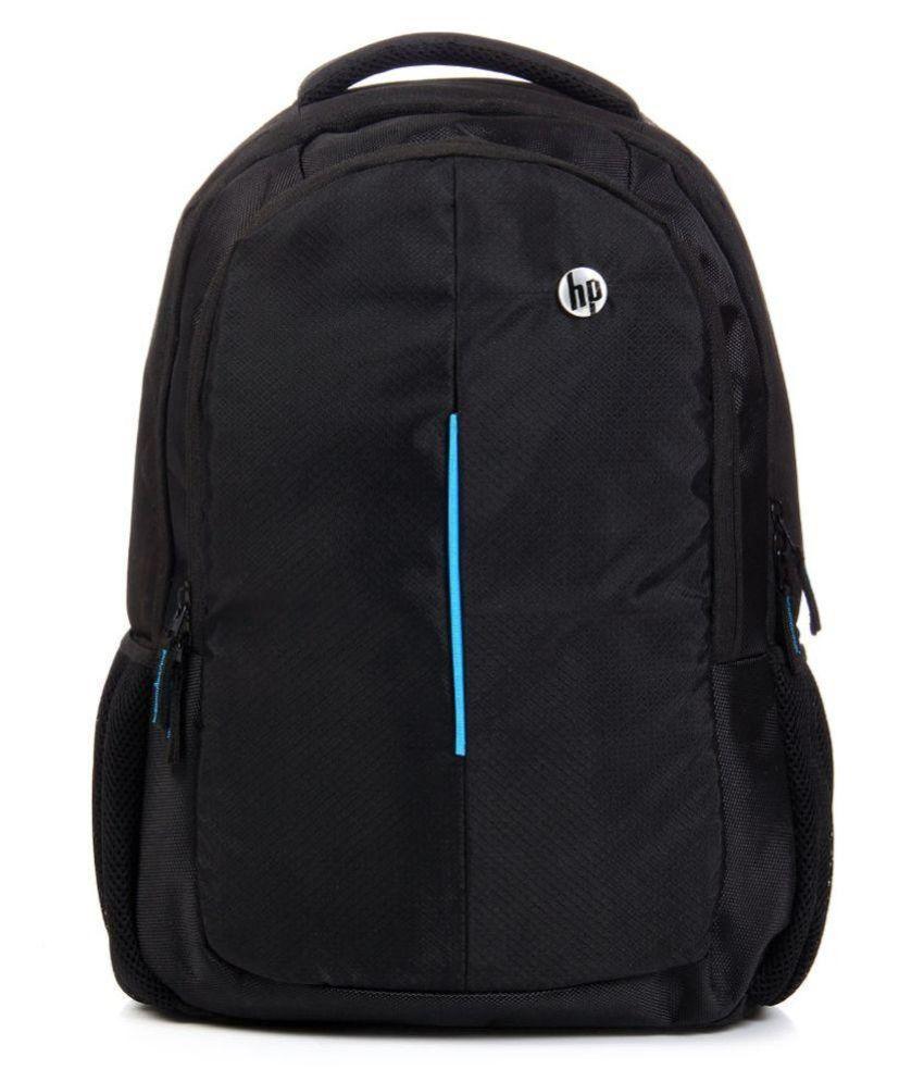 a7d81cc99e2 HP Black Polyester School Bag - Buy HP Black Polyester School Bag Online at  Low Price - Snapdeal