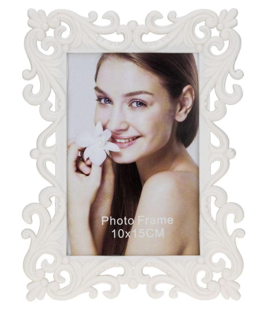 Kaos MDF White Single Photo Frame