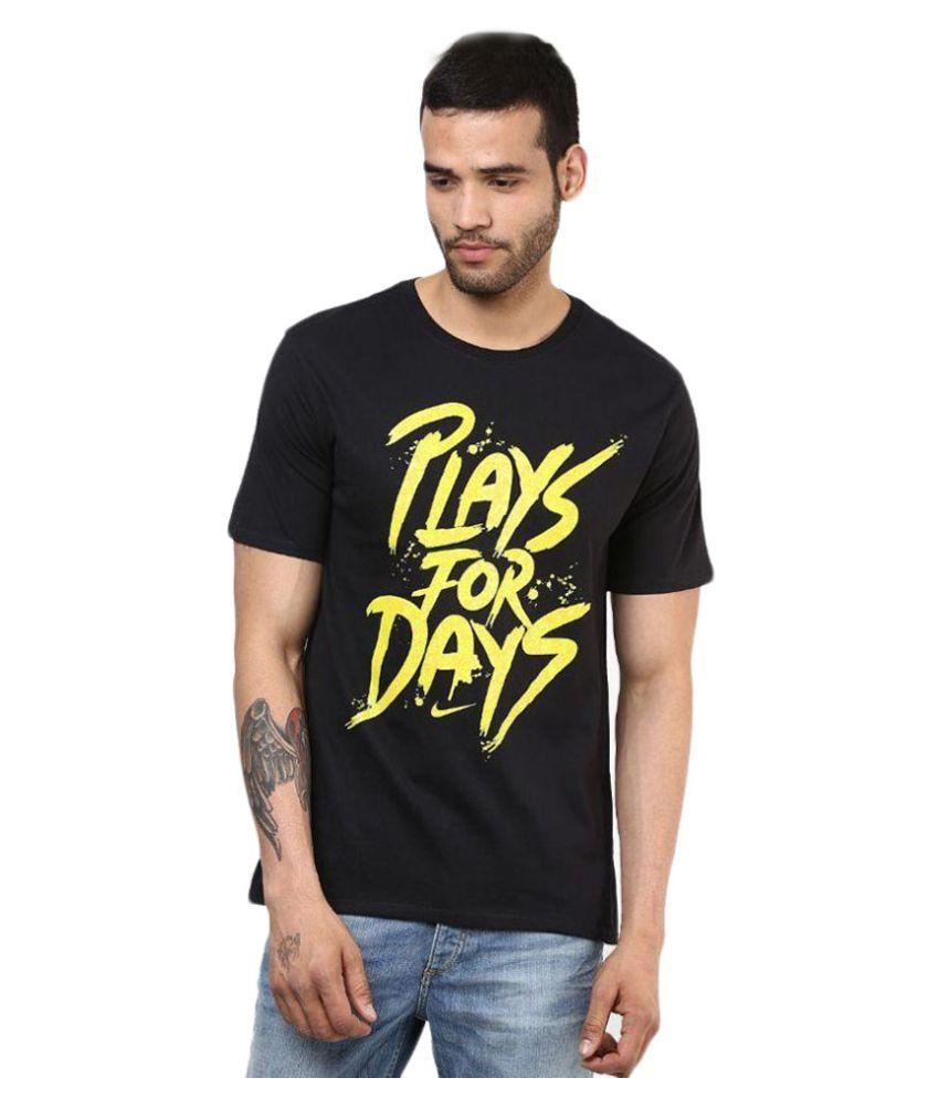 Nike Black Round T Shirt