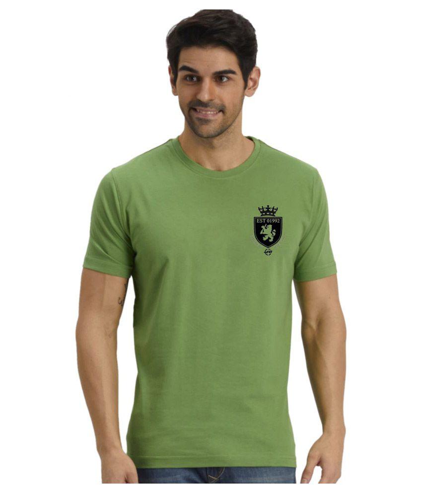 Fritzberg Green Round T Shirt