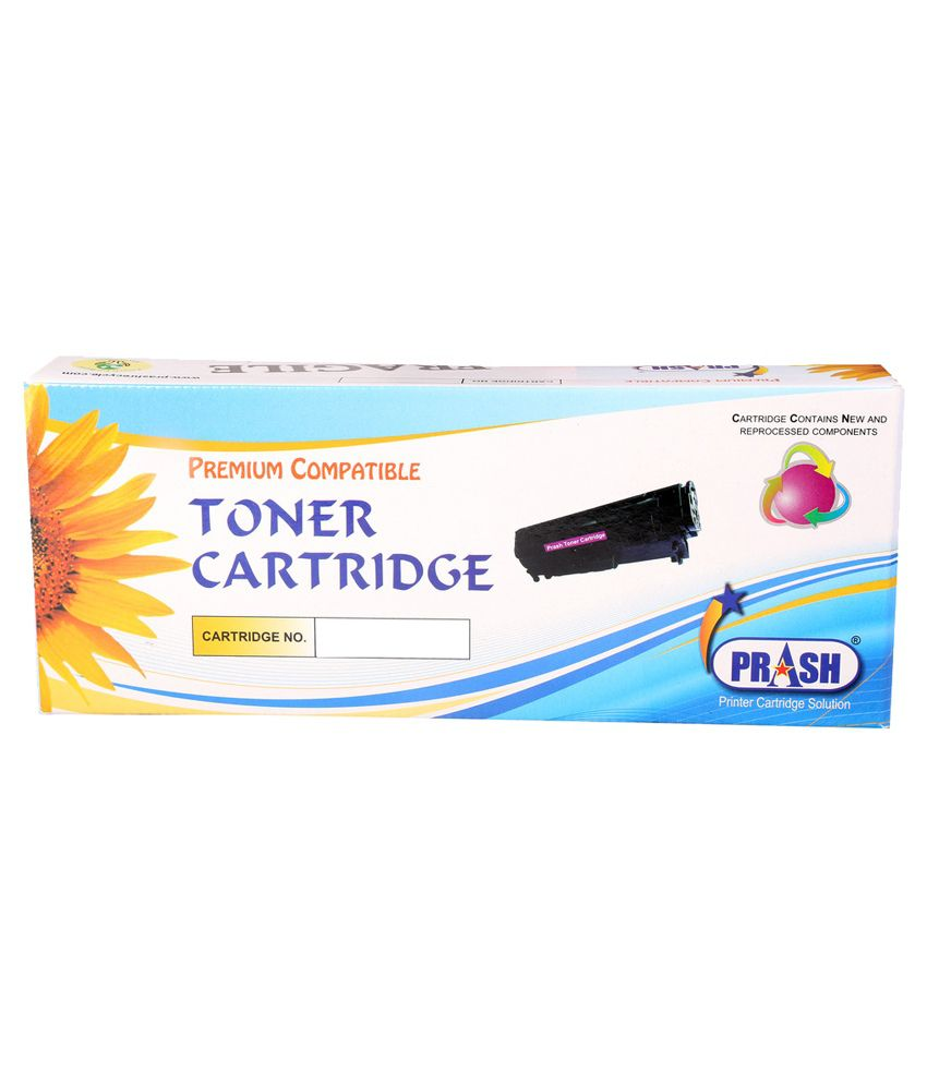 Prash CB542A/125A Yellow Toner Cartridge Compatible for use in Hp CP 1215
