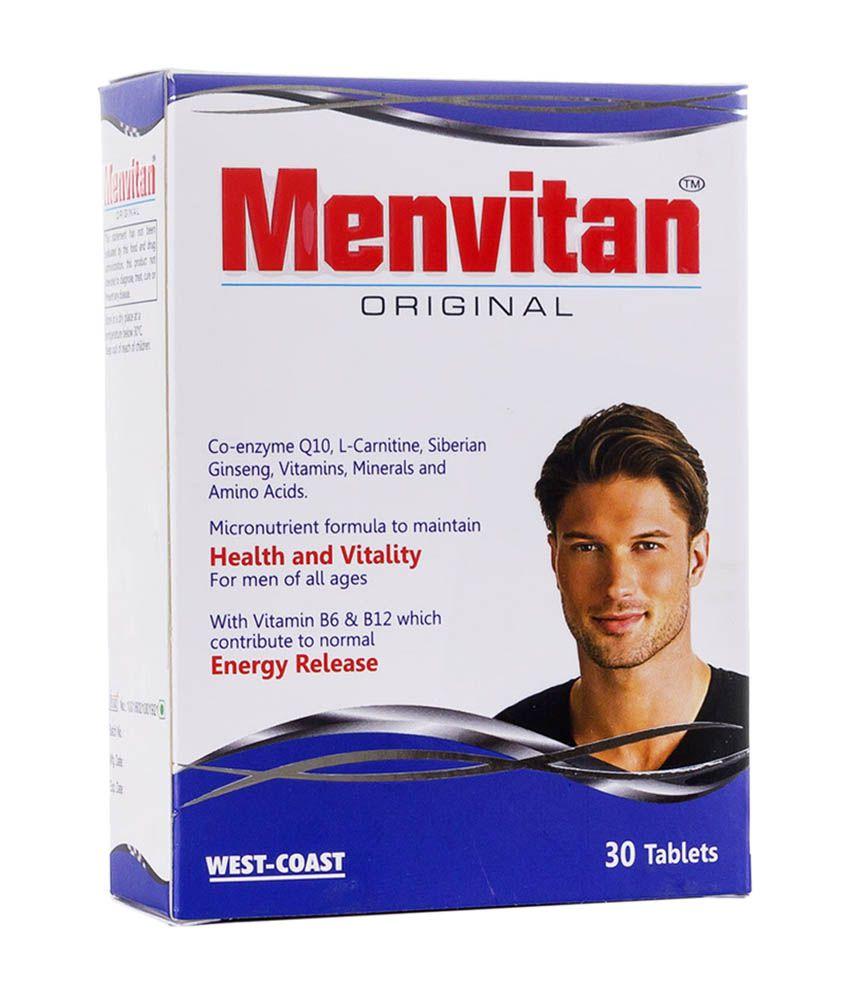 WestCoast West-Coast Menvitan Original, 30 Tablets 30 no.s Multivitamins Tablets