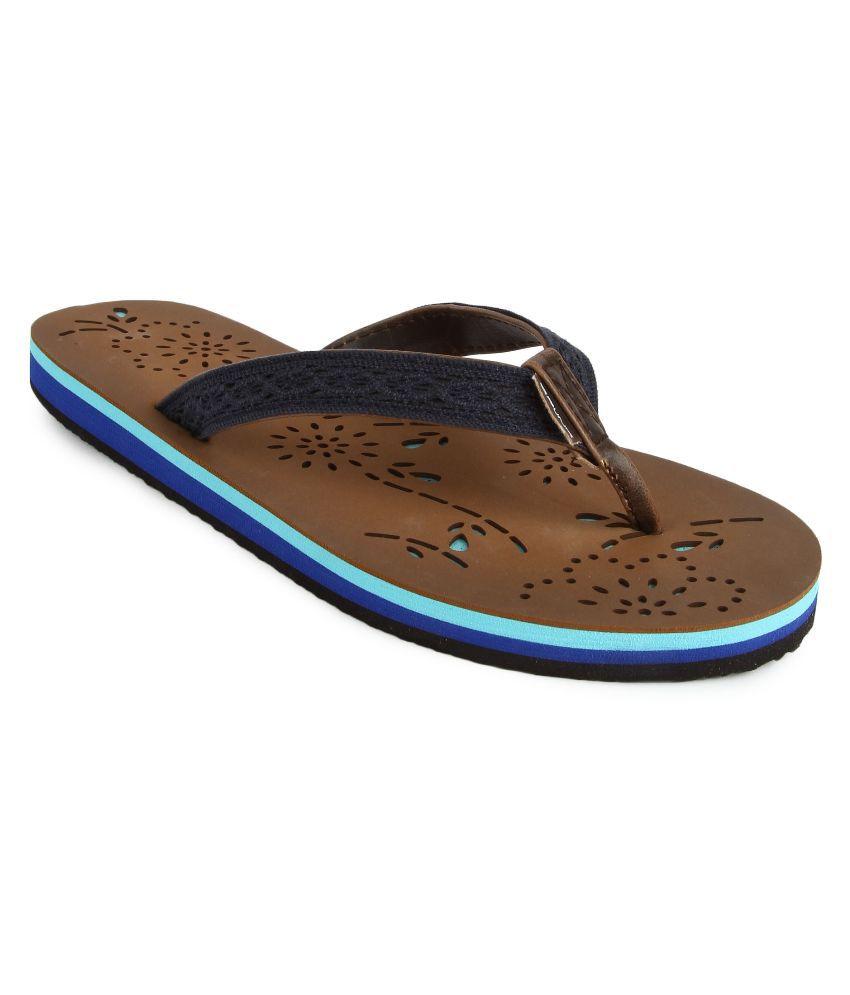Spunk Blue Slippers