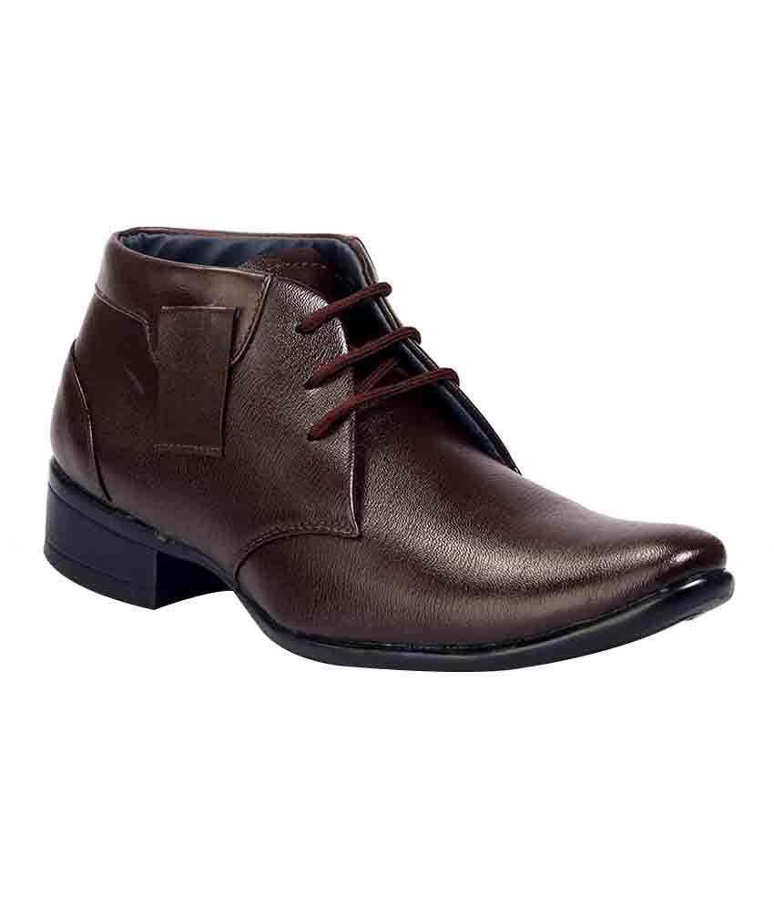 Ferraiolo Brown Boots