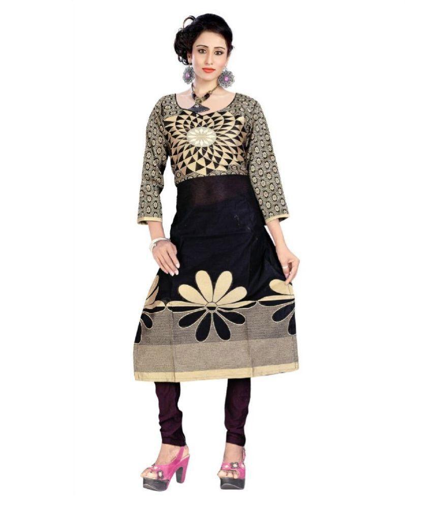 Maitri Fashion Multicoloured Cotton Straight Kurti
