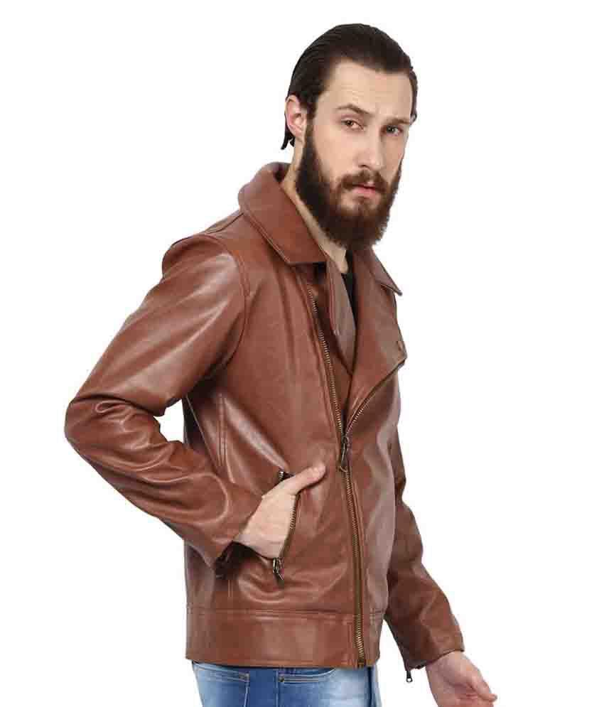 Leather jacket yepme - Yepme Brown Pu Leather Casual Jacket Yepme Brown Pu Leather Casual Jacket