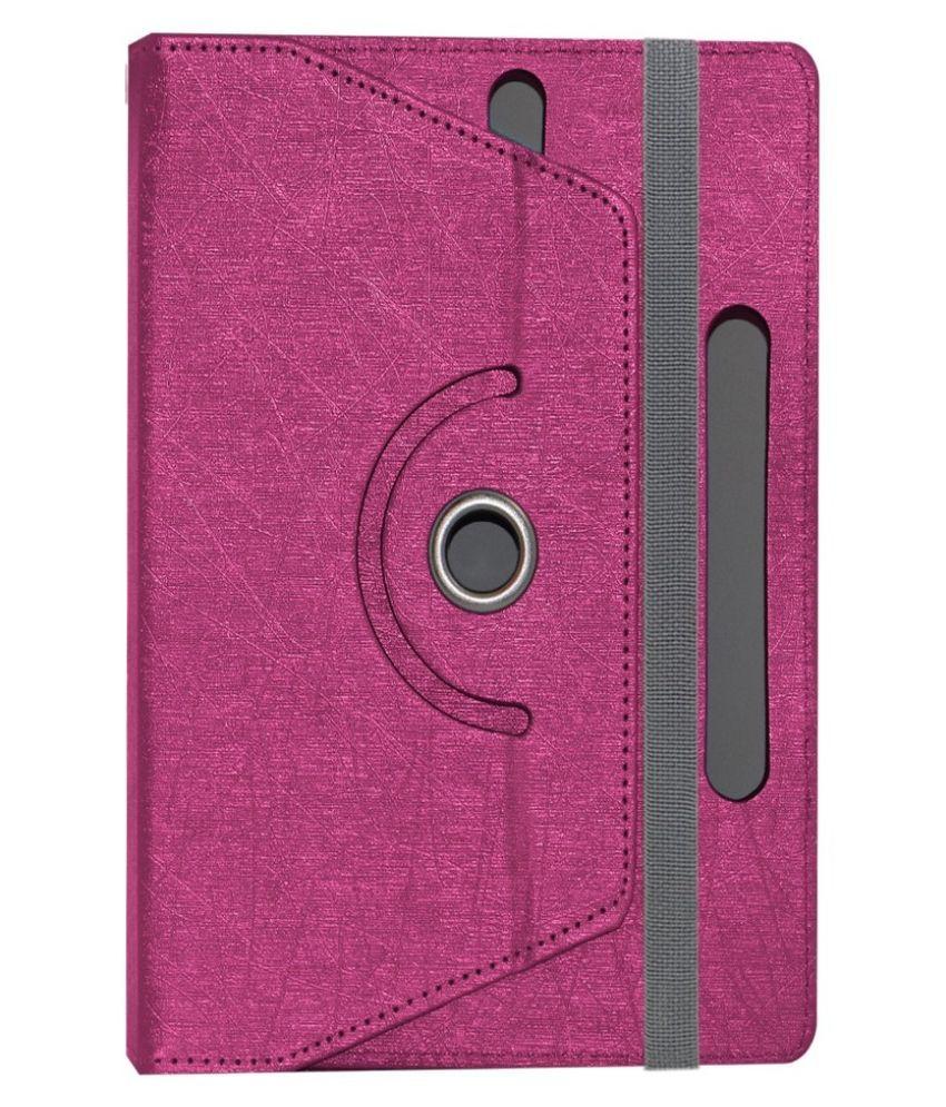 ACM Flip Cover for Baslate 7-22 - Pink