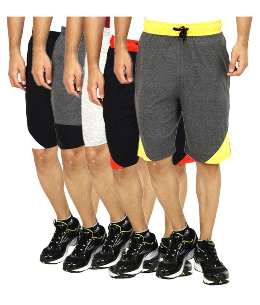 Candy House Multi Shorts Pack of 5