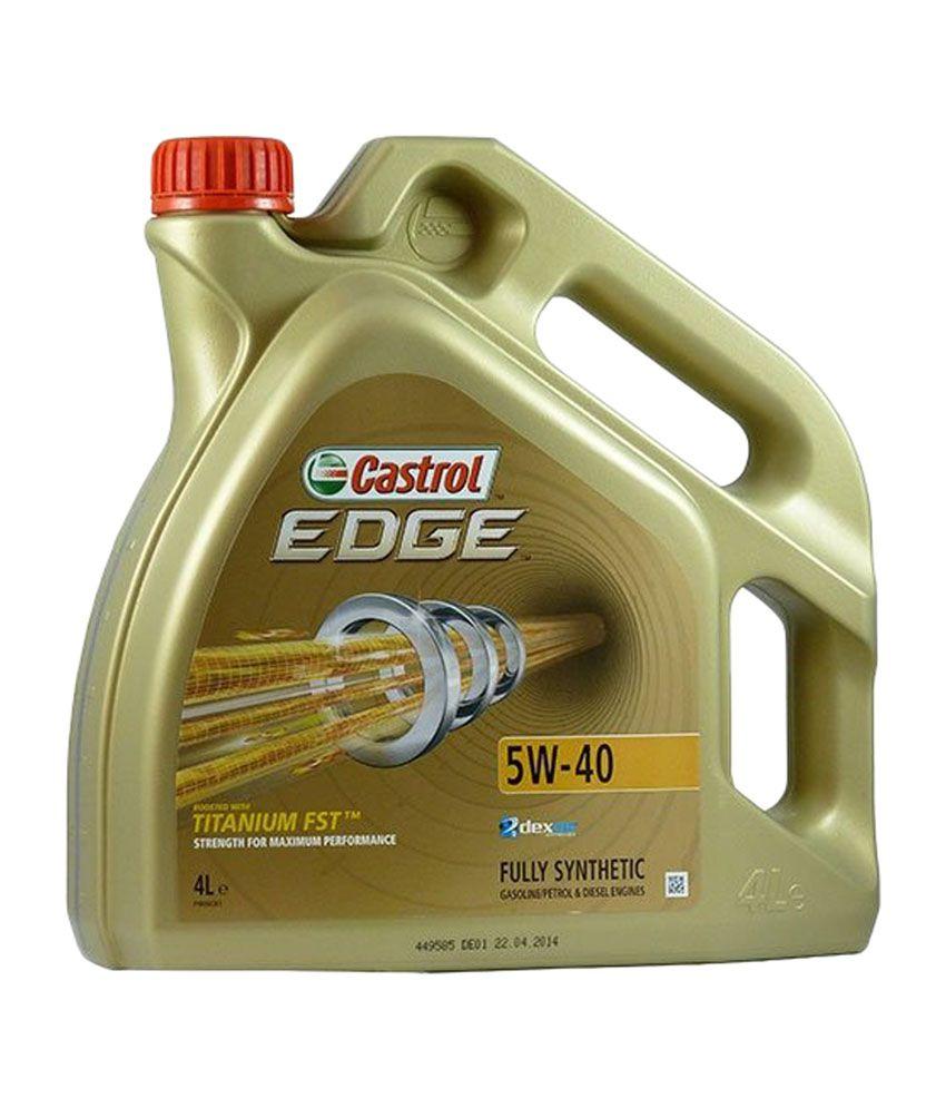 castrol edge engine oil 5w 40 4 l buy castrol edge. Black Bedroom Furniture Sets. Home Design Ideas