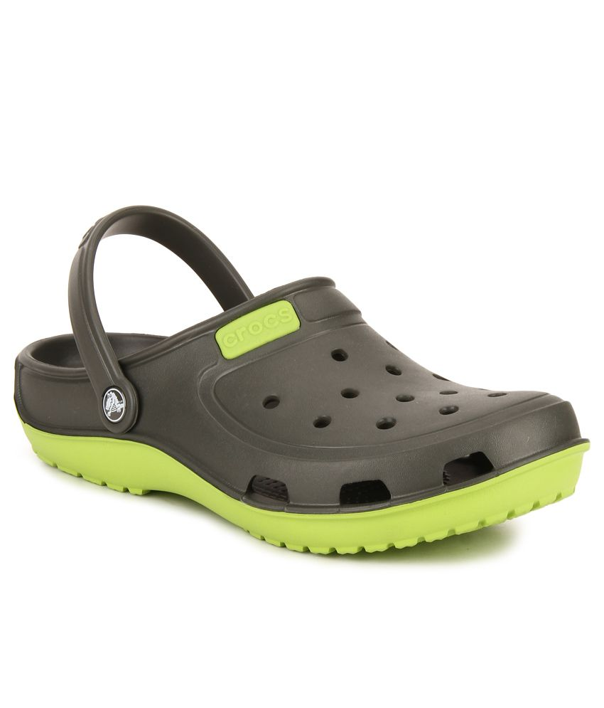 beea7b9249ae2 Crocs Green Floater Sandals - Buy Crocs Green Floater Sandals Online at  Best Prices in India on Snapdeal