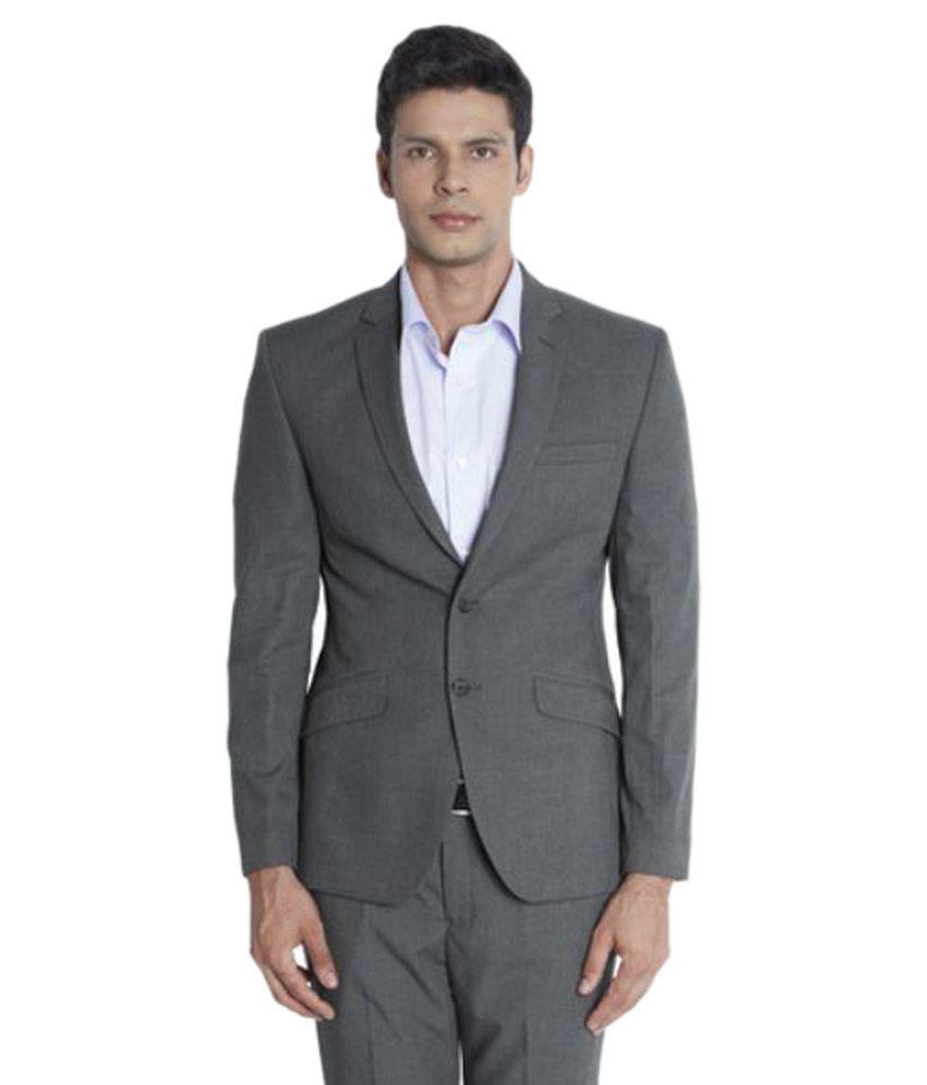 Park Avenue Grey Formal Suits