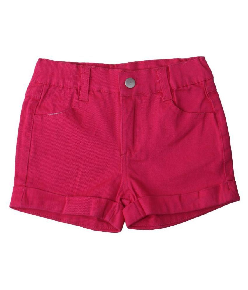 Innocent kidS Pink Cotton Blend Shorts