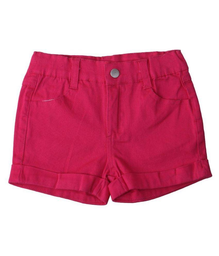 Innocent kidS Pink Cotton Blend Shorts