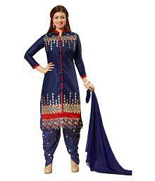 Shreeji designer Blue salwar suit set