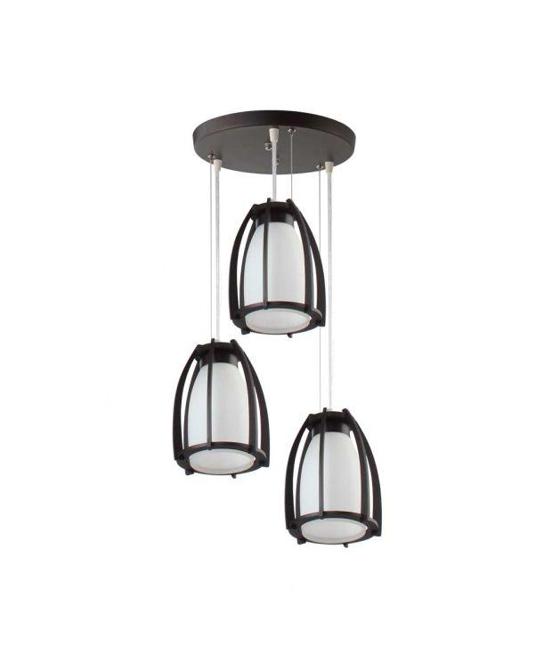 Ceiling Lamp Installation Cost: LeArc Designer Lighting Black And White 40 Watt Ceiling