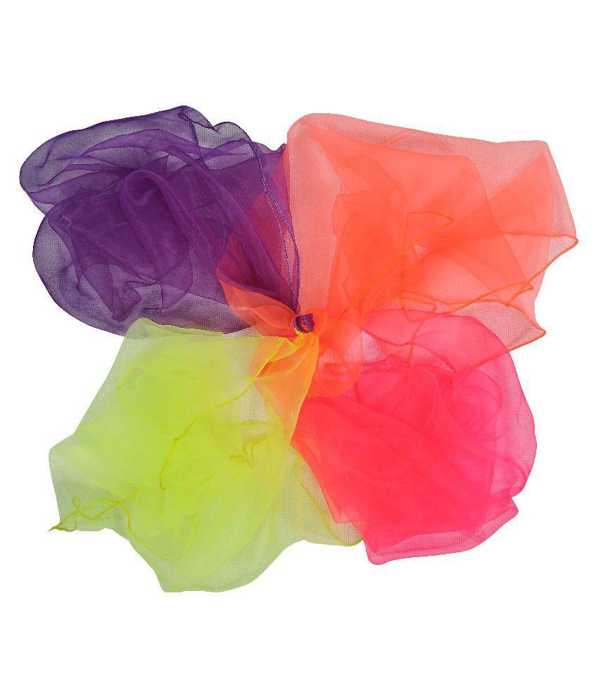 GSI Multicolour Juggling Scarves