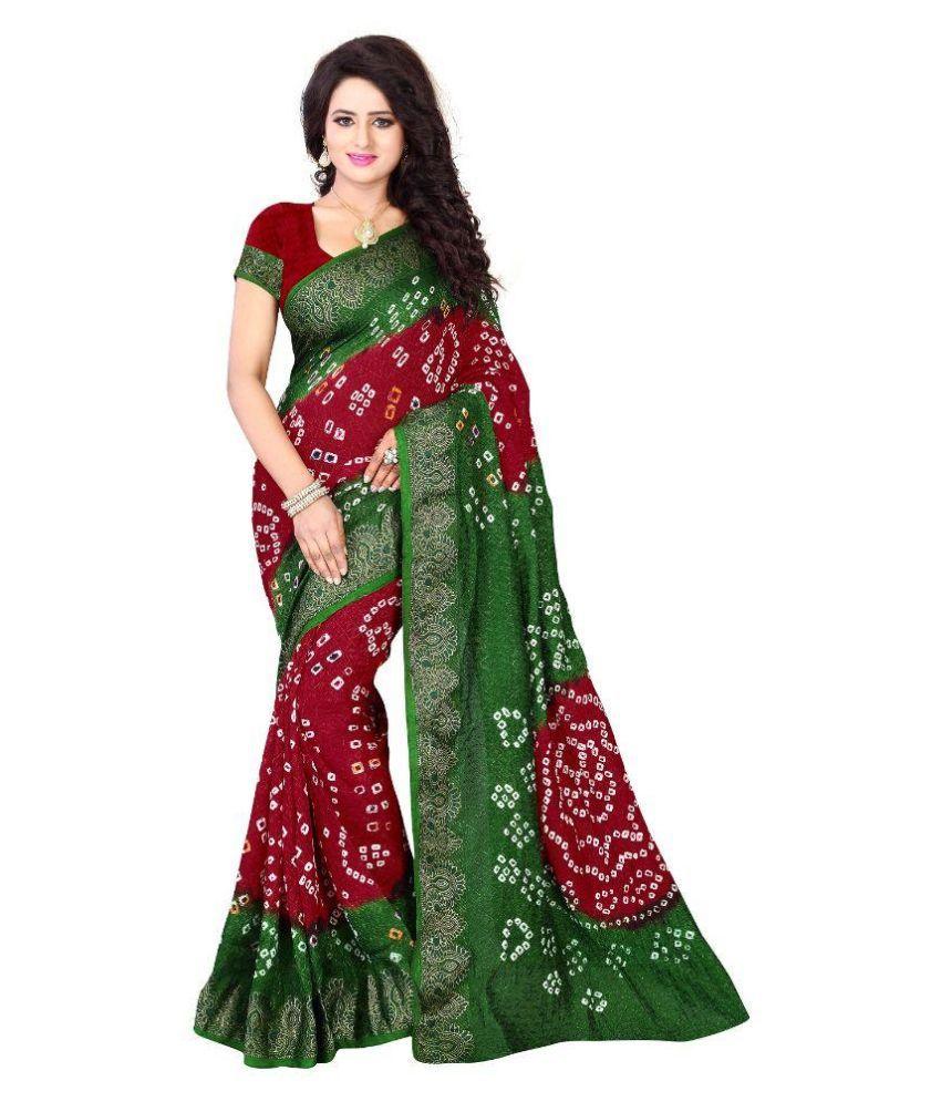 Stylefabs Multicoloured Cotton Silk Saree