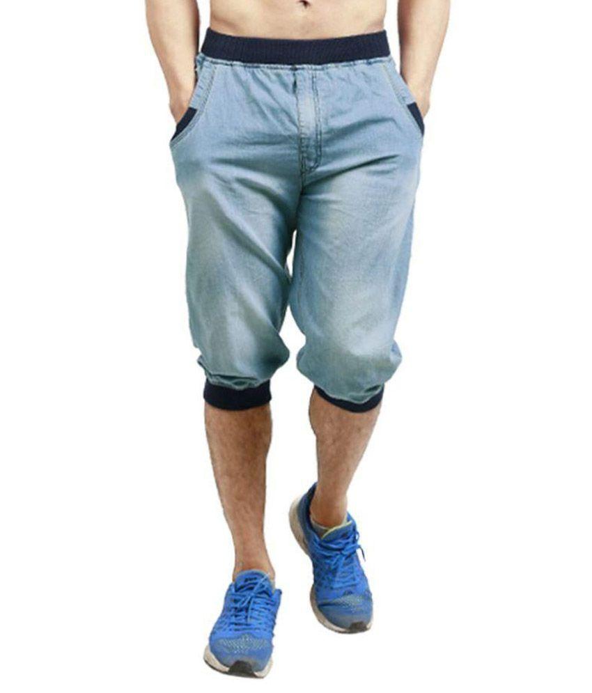 Leg-In Blue 3/4ths