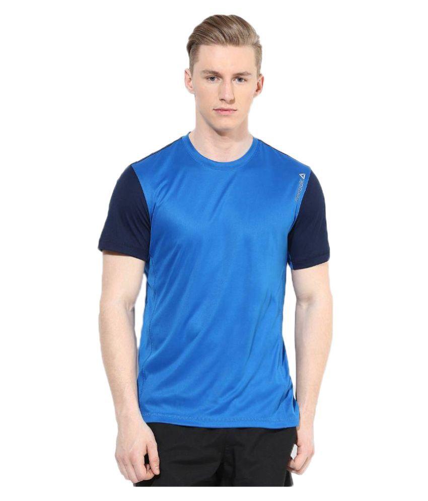 Reebok Blue Round T Shirt