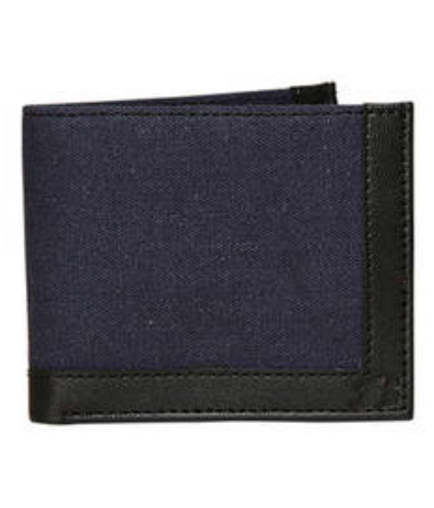 Bata Blue Canvas Wallet for Men: Buy Online at Low Price ...