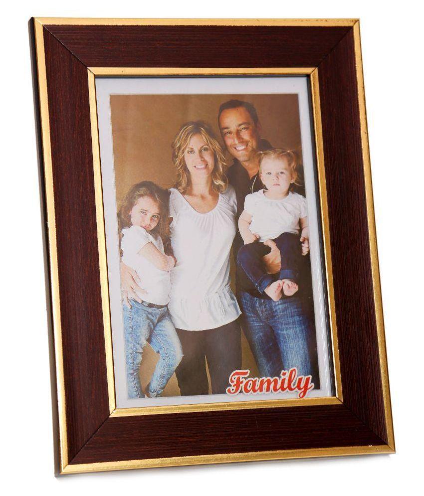 Bgroovy Wood Brown Single Photo Frame