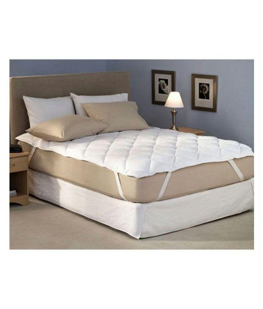 Desirica White Waterproof Double Bed Mattress Protector Buy