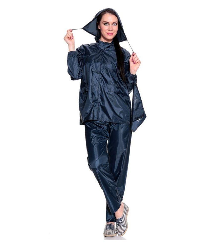 Genius Navy Raincoat Set