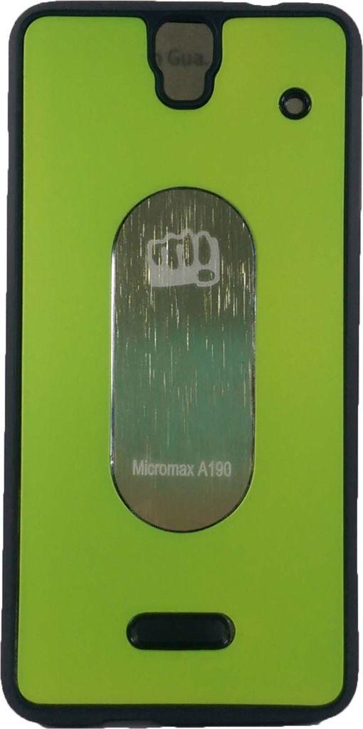 promo code 7eba7 bab68 Micromax Canvas HD Plus A190 BACK COVER by Backer The Brand - Plain ...