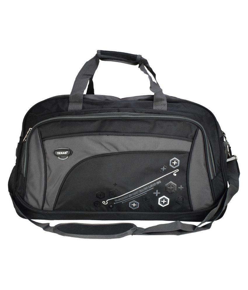 Texas BLACK Gym Bag