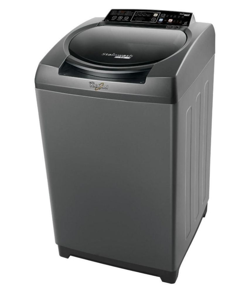 Whirlpool 6.5 Stainwash Ultra 65H-Graphite 10YMW Fully Automatic Top Load Washing Machine Grey