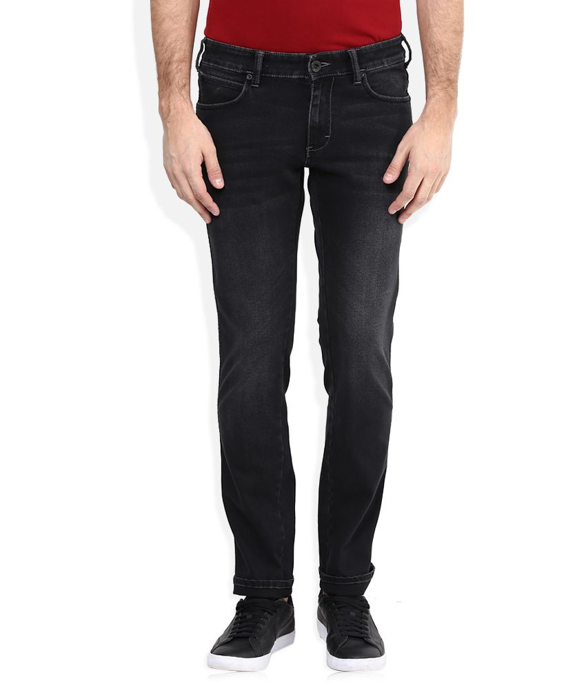 Wrangler Black Slim Faded