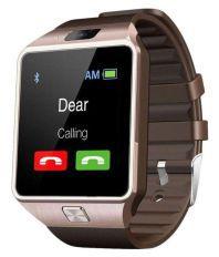 MDI DZ09 Gold Smart Watch