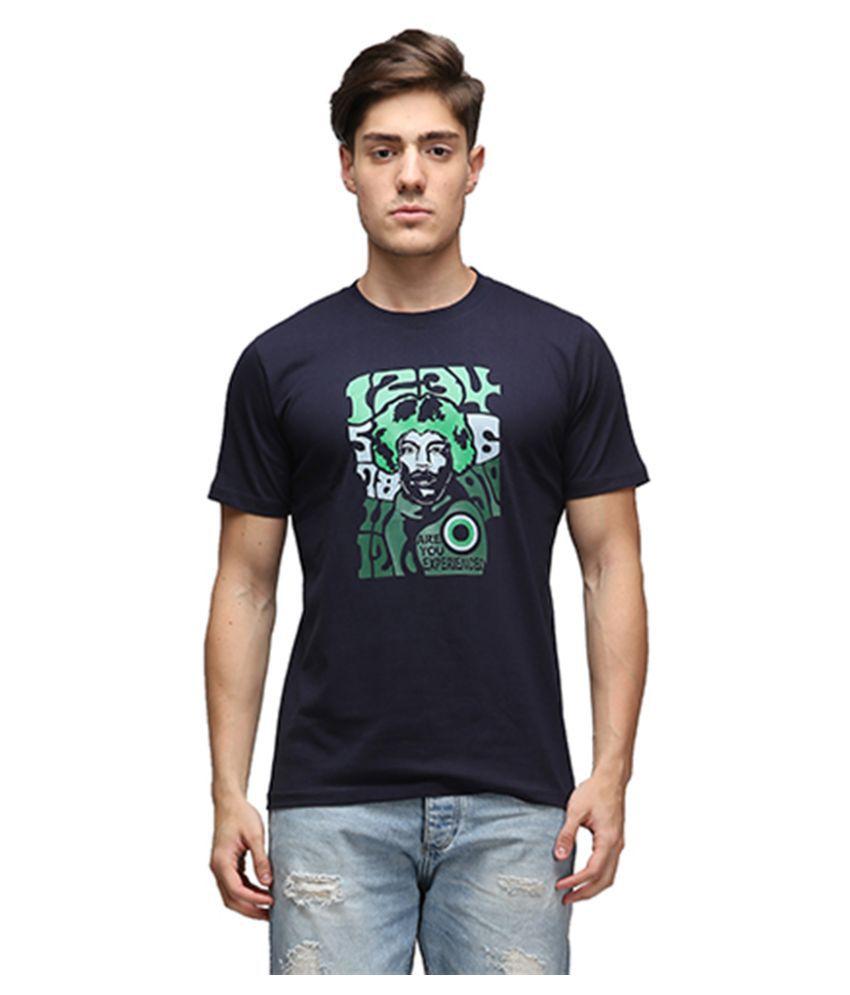 Effit Navy Round T Shirt